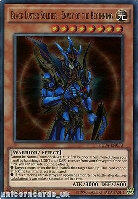 DUSA-EN053 Black Luster Soldier - Envoy of the Beginning Ultra Rare 1st Edition
