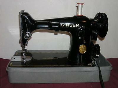 HEAVY DUTY INDUSTRIAL STRENGTH SINGER 201-2 SEWING MACHINE, All STEEL