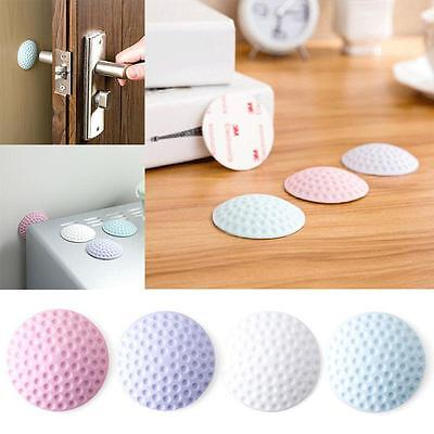 Self Adhesive Wall Buffer Protector Door Handle Bumper Guard Stopper Rubber Stop