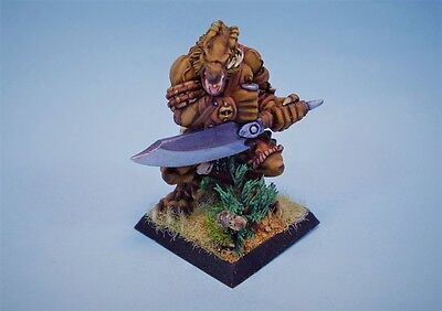 Confrontation painted miniature Wolfen Predator