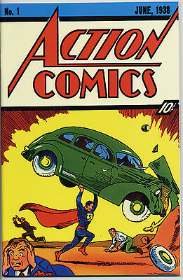 SUPERMAN # 37 / ACTION COMICS #1 Flip-Cover-Edition GERMAN REPRINT Dino Verlag