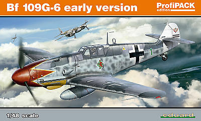 EDUARD 82113 WWII German Bf109G-6 Early Version in 1:48 ProfiPACK!!
