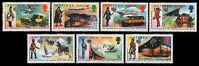 Barbuda 1974 - Mi-Nr. 150-156 ** - MNH - Transport - UPU