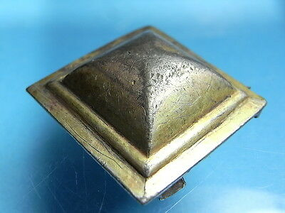 Large Hunnic~Langobard 5th Century European Gilded Silver Pyramid Mount. (A996)