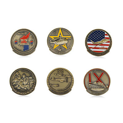 38TH PARALLEL KOREAN WAR 1950-1953 Commemorative Coin Art Collection