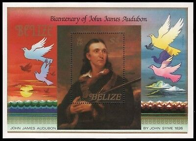Belize 1985 - Mi-Nr. Block 67 ** - MNH - Vögel / Birds - Audubon