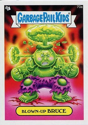 Garbage Pail Kids Mini Cards 2013 Base Card 70a Blown-Up BRUCE