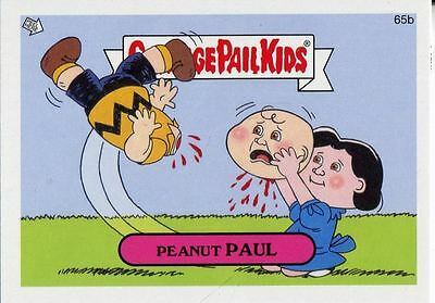 Garbage Pail Kids Mini Cards 2013 Base Card 65b Peanut PAUL