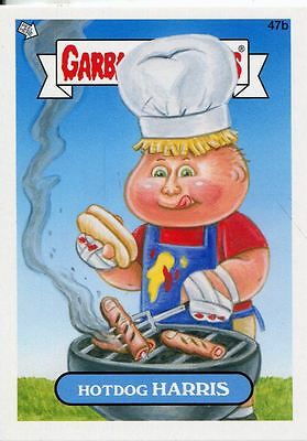 Garbage Pail Kids Mini Cards 2013 Base Card 47b Hotdog HARRIS