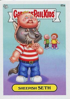 Garbage Pail Kids Mini Cards 2013 Base Card 85a Sheepish SETH
