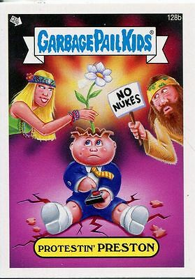Garbage Pail Kids Mini Cards 2013 Base Card 128b Protestin' PRESTON