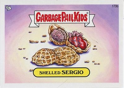 Garbage Pail Kids Mini Cards 2013 Base Card 173b Shelled SERGIO