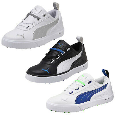 Puma Junior Monolite Mini Spikeless Golf Shoes New Waterproof Lightweight Kids