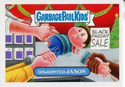 Garbage Pail Kids Mini Cards 2013 Base Card 183a Disjointed JASON
