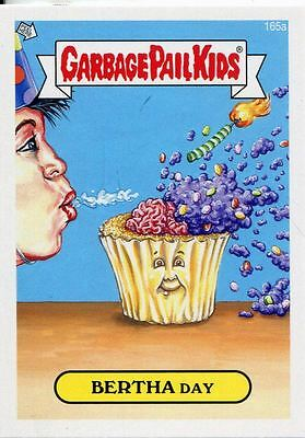 Garbage Pail Kids Mini Cards 2013 Base Card 165a BERTHA Day