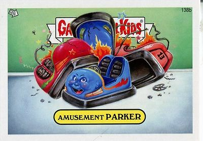 Garbage Pail Kids Mini Cards 2013 Base Card 138b Amusement PARKER