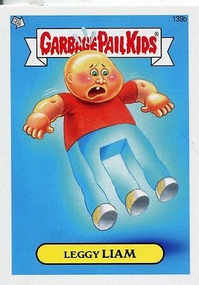 Garbage Pail Kids Mini Cards 2013 Base Card 139b Leggy LIAM