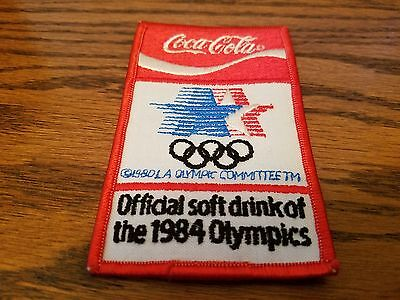 1984 OLYMPICS COCA COLA PATCH, New