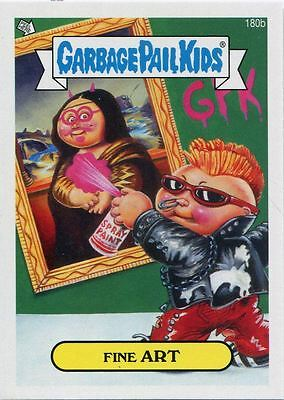 Garbage Pail Kids Mini Cards 2013 Base Card 180b Fine ART