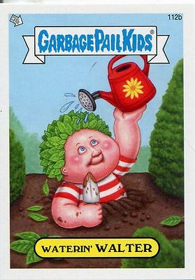 Garbage Pail Kids Mini Cards 2013 Base Card 112b Waterin' WALTER