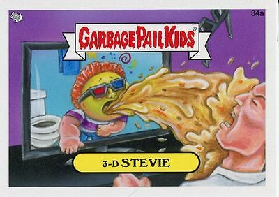 Garbage Pail Kids Mini Cards 2013 Base Card 34a 3-D STEVIE