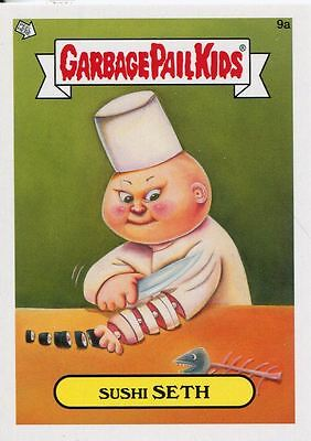 Garbage Pail Kids Mini Cards 2013 Base Card 9a Sushi SETH