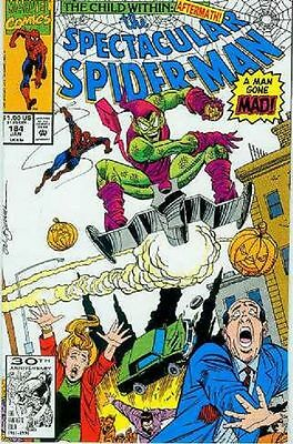 Peter Parker Spectacular Spiderman # 184 (Green Goblin appearance) (USA, 1992)