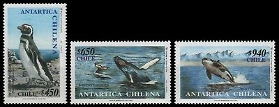 Chile 2000 - Mi-Nr. 1960-1962 ** - MNH - Wildtiere / Wild animals