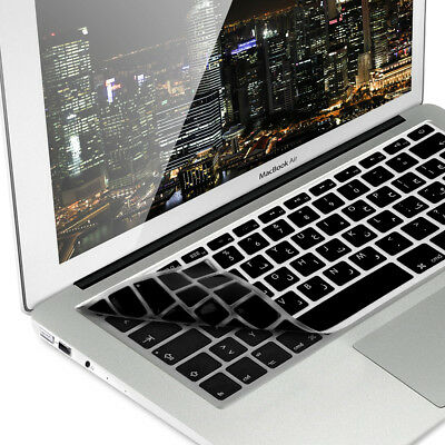 Keyboard Cover Qwerty Arabic For Apple Macbook Air 13'' Pro Retina 13'' 15''