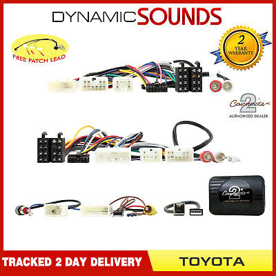 CTSTY008.2 Steering Wheel Control Interface For Toyota Avensis Corolla RAV4 Vios