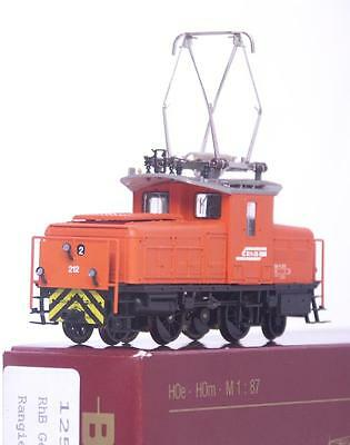 MINT BEMO 1257 122 HOm - SWISS RhB ORANGE Ge 2/4 ELECTRIC LOCOMOTIVE No.212