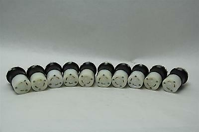 Lot of 10 Hubbell HBL2623 30A 250V Female Twist Lock Connector Plug NEMA L6-30R