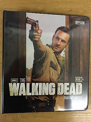 The Walking Dead Season 2 Official Cryptozoic Binder