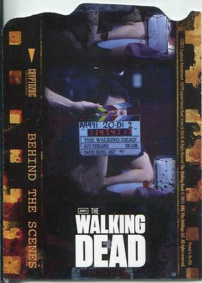 The Walking Dead Season 1 Duplex Behind The Scenes Chase Card C05