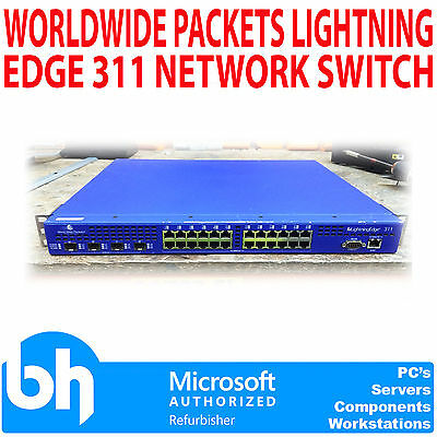 Worldwide Packets Lightning Edge 311 Network Switch LE-311 4150001001 Rack Mount