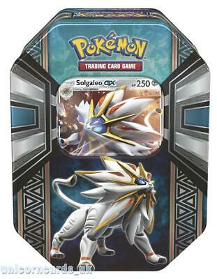 Pokemon TCG: Spring 2017 Legends of Alola Tin - Solgaleo GX :: Brand New And Sea