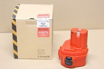 Batterie 12V 2.0Ah Ni-Cd compatible MAKITA remplace 1220 1222 1233  /  PTN0050A