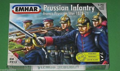 Emhar PRUSSIAN INFANTRY 1870 – 71 1/72 kit 7213