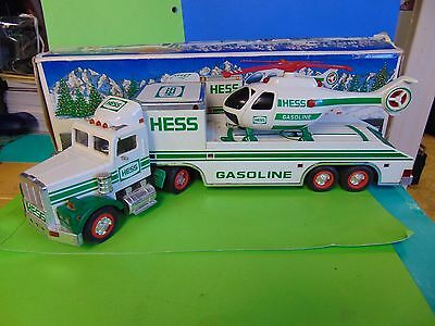 2006 Hess Gasoline TRUCK AND HELICOPTER with box