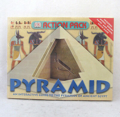 Pyramid Egypt Learning Game Model Books Interactive Guide from DK Action Pack