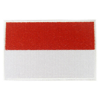 INDONESIA Nation Flag Logo Embroidered Iron On Patch #PFGID2