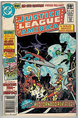 Justice League Of America #193 1981 1St All Star Squadron Dc Bronze Age Giant!