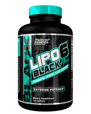 Nutrex LIPO 6 BLACK HERS Extreme Potency Fat Burner Weight Loss 120 caps