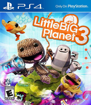 Little Big Planet 3 PS4 New PlayStation 4, playstation_4