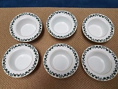 Kornilow Bros Brothers Made in Russia Set Lot of 6 Bowls