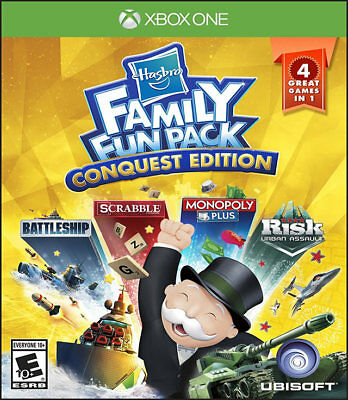 Hasbro Family Fun Pack Conquest Edition Xbox One New Xbox One, Xbox One
