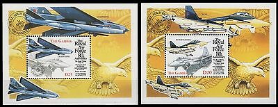 Gambia 1998 - Mi-Nr. Block 404 & 405 ** - MNH - Flugzeuge / Airplanes