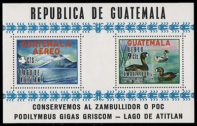 Guatemala 1964 - Mi-Nr. Block 10 ** - MNH - Enten / Ducks