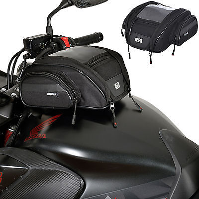 Oxford F1 Motorcycle Luggage - Magnetic Mini Tank Bag - 7L (OL440)