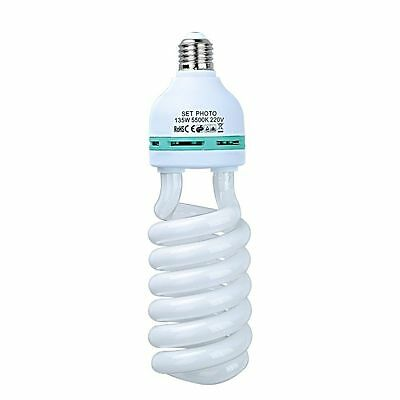 110V 135W E27 5500K CFL Daylight Light Energy Saving Lighting Bulb Studio Bulb